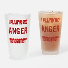 Unique Anger management Drinking Glass