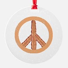 Peace o` Bacon Ornament