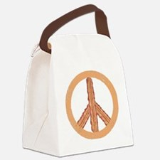 Peace o` Bacon Canvas Lunch Bag