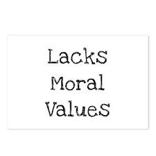 Unique Values morals Postcards (Package of 8)