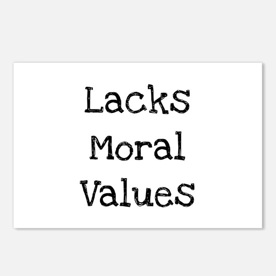 Cute Values morals Postcards (Package of 8)