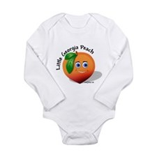 Little Georgia peach wb Body Suit