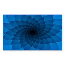 Blue Vortex 7 Decal
