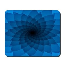 Blue Vortex 7 Mousepad