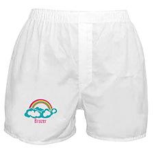 Rainbow Cloud Brazer Boxer Shorts