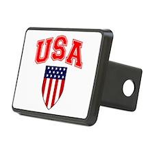 Patriotic U.S.A American Flag Shield Hitch Cover