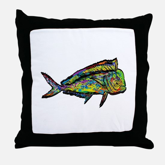 NEW WAVES Throw Pillow