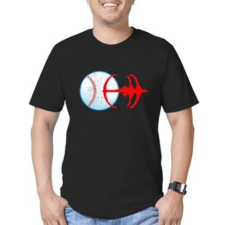 Deep Space Niners Men's Fitted T-Shirt (dark)