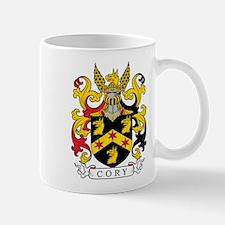 Cory Family Crest Mugs