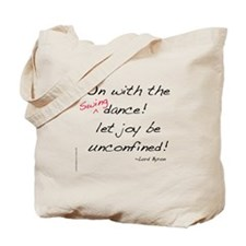 Byron on Swing Dance Tote Bag