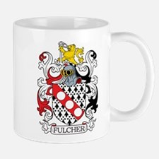 Fulcher Family Crest Mugs
