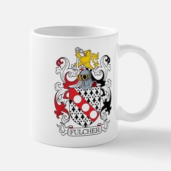 Fulcher Family Crest Mugs