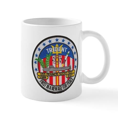 USS FRANCIS SCOTT KEY Mug By Ussfskey
