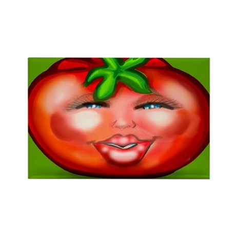 Tomato Wide Tile Magnets