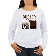 Curler Fueled by choco T-Shirt