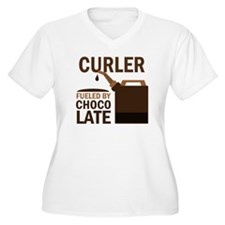 Curler Fueled by T-Shirt