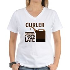 Curler Fueled by chocolate Shirt