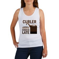 Curler Fueled by chocolate Women's Tank Top