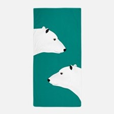 Polar Bears Beach Towel