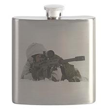 Cute Sniper Flask