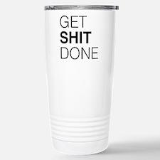 Get Shit Done Travel Mug