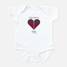 Heart - Haye Infant Bodysuit