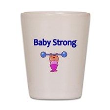 Baby Strong Shot Glass