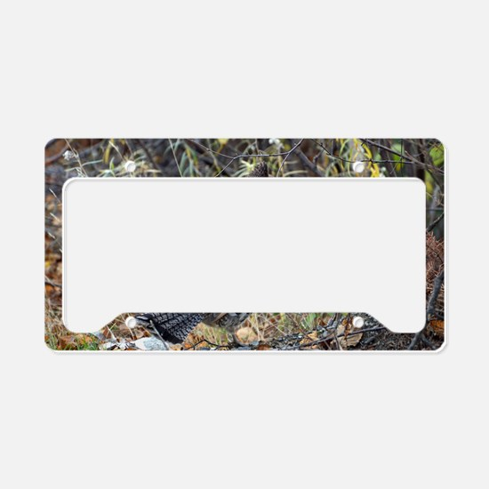 Partridge 3 License Plate Holder