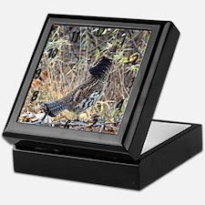 Partridge 3 Keepsake Box