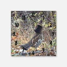 "Partridge 3 Square Sticker 3"" x 3"""