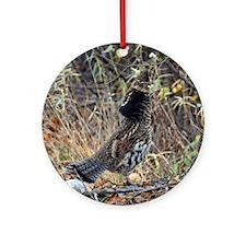 Partridge 3 Round Ornament