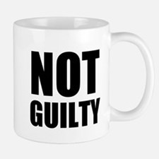 Not Guilty Mugs