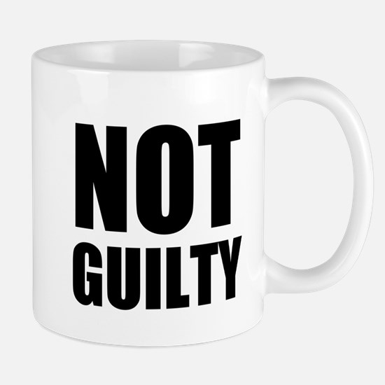 Not Guilty Mugs
