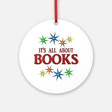 Book Stars Ornament (Round)
