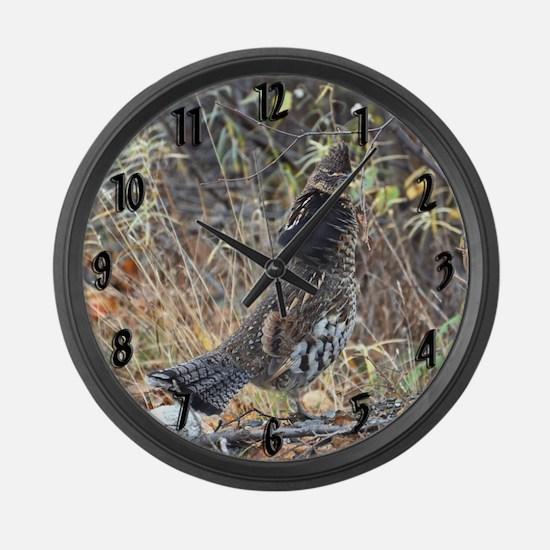 Partridge 3 Large Wall Clock