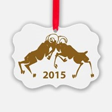Chinese Year of The Sheep 2015 Ornament