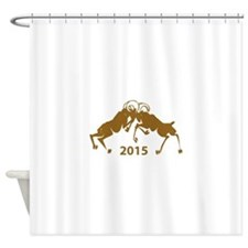 Chinese Year of The Sheep 2015 Shower Curtain
