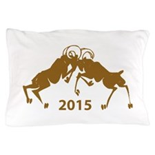 Chinese Year of The Sheep 2015 Pillow Case