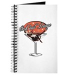Retro Cocktail Lounge Pin Up Girl Journal