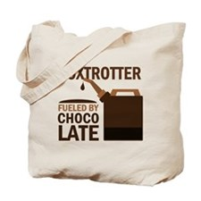 Fox trotter Fueled by chocolate Tote Bag