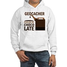 Geocacher Fueled by chocolate Hoodie