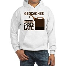 Geocacher Fueled by chocolate Jumper Hoody