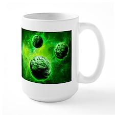 Green Planet Art Mugs