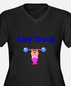 Baby Strong Plus Size T-Shirt