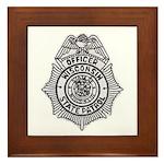 Wisconsin State Patrol Framed Tile