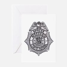 Wisconsin State Patrol Greeting Cards (Package of