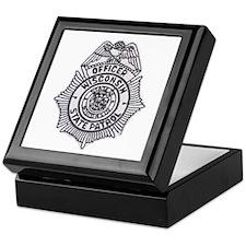 Wisconsin State Patrol Keepsake Box