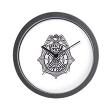 Wisconsin State Patrol Wall Clock