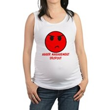 Anger Management Dropout Maternity Tank Top