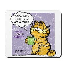 One Cup at a Time Mousepad